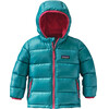 Patagonia Babies Hi-Loft Down Sweater Hoody Epic Blue